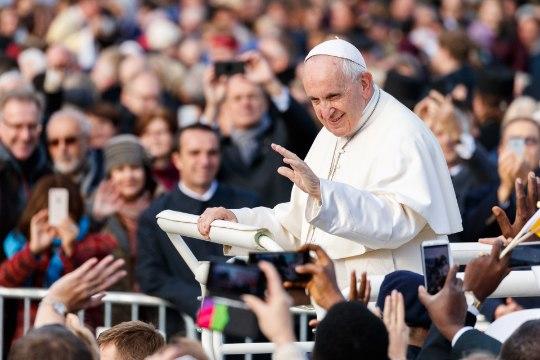 Kui isegi paavst ei tekita elevust