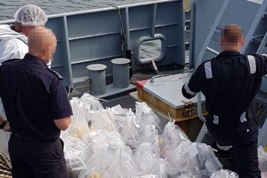 Hiiglaslikku narkolasti vedanud kapteni vend: see on väga suur pettumus