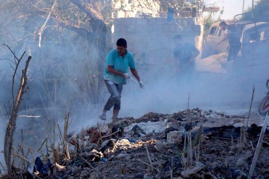 Süürias toimusid kardetud õhurünnakud