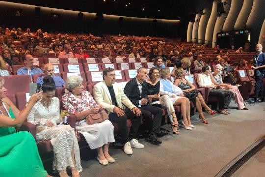 FOTOD   ÕL VENEETSIAS: Eesti koostööfilm esilinastus maailma vanimal festivalil