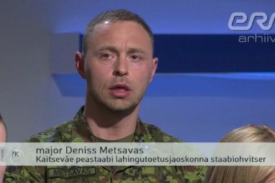 Kes on riigireetmises kahtlustatav major Deniss Metsavas?