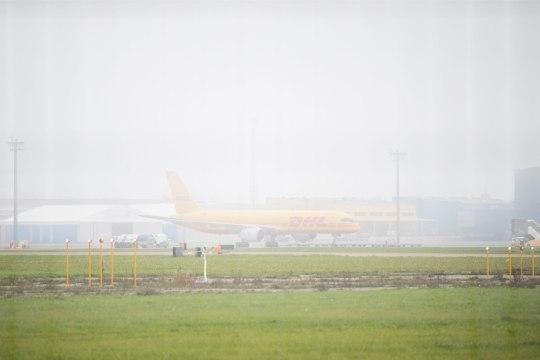 Hommikune udu ajas lennuplaanid sassi