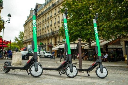 Taxify запускает услугу совместного использования электросамокатов