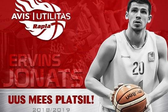 Rapla meeskond värbas eesliini Läti korvpalluri