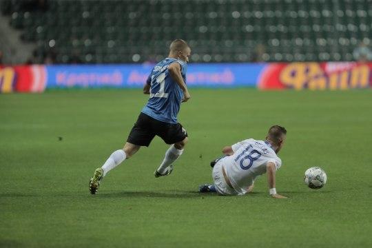 NII SEE JUHTUS | Sport 08.09: Eesti jalgpallikoondis alustas Rahvuste liigat napi kaotusega
