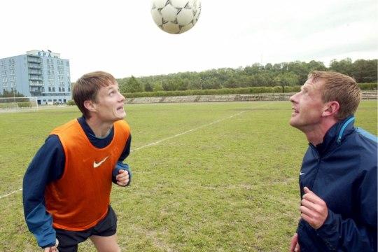 Meenutus: kes on need kolm Eesti jalgpallurit, kes suutsid Kreekale värava lüüa?