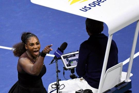 Серена Уильямс устроила истерику в проигранном финале US Open