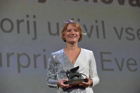 Eesti koostööfilm noppis Veneetsia filmifestivalilt parima näitlejanna tiitli