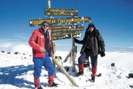 Kilimanjaro niitis Vahur Kersna pikali