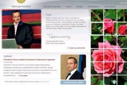 Presidendi kodulehekülg sai 300 000 krooni eest uue ilme