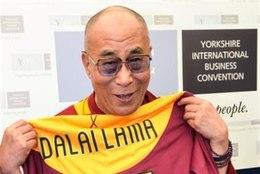 Dalai-Laama saatis Inglise jalgpalliklubile oma edusoovid