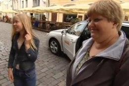 Seitsme lapse ema tuli esimest korda Tallinna
