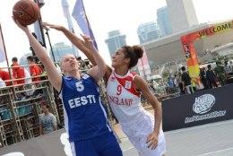 Eesti neiud on jõudnud 3x3 korvpalli MMil finaali!