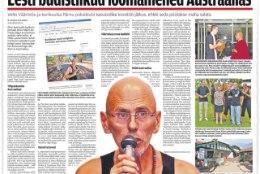 Eesti väljapressijad astusid Austraalias kohtu ette