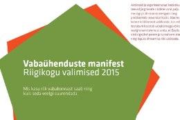 Vabaühendused lähevad riigikogu valimistele vastu manifestiga