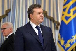 Janukovõtš peab end endiselt Ukraina seaduslikuks riigipeaks