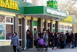Ukraina pangad võivad Krimmis Venemaale kaotada 2 miljardit dollarit