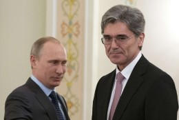 "Saksa firma Siemens juht: ""Putin on tavaline klient."""
