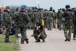 Teisipäevased sündmused Ukrainas Krimmis