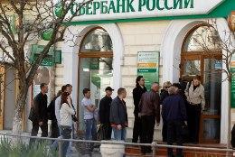 Vene pangad kardavad sanktsioonide tõttu Krimmi minna