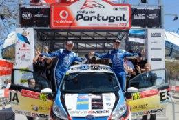 Sander Pärnale ja James Morganile autoralli Portugali MM-etapilt väga vajalik võit
