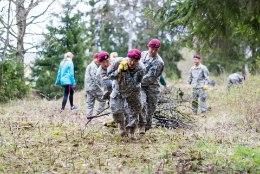 USA sõjavägi tegi pargi võsast maatasa