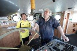 Piirivalvelaev Valvas anti meremuuseumile