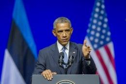 Frankfurter Allgemeine: Obama andis Eestis selge signaali Moskvale