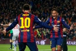FOTOD JA VIDEO: Neymar, Suarez ja Messi kõik skoorisid ning Barcelona alistas Atletico!