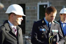FOTOD | Pevkur ja Vaher käisid Piusa kordoni ehitust kontrollimas