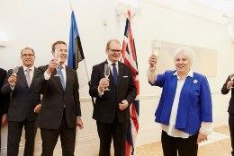 GALERII | Välisminister Kaljurand avas Londoni saatkonna uue hoone