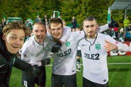 GALERII | FC Flora võitis ja tähistas 10. Eesti meistritiitlit