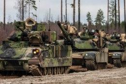 GALERII | Ühendriikide tankid harjutavad tegutsemist Eesti maastikul