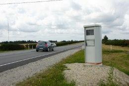 Kiiruskaameraid lõhutud 3000 euro eest