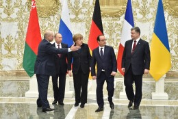 Minski rahukõnelused on kestnud juba 12 tundi