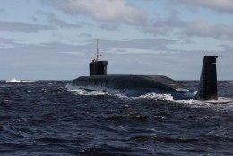 Läti merepiiri lähistel märgati Vene allveelaeva