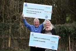 Briti paar võitis loteriiga miljoni juba teist korda