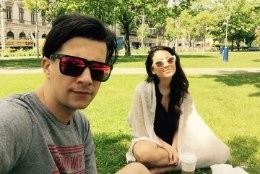 PILTUUDIS | Stig ja Elina naudivad Viinis sooja ilma