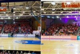 FOTOD | Tutvu materjaliga, mis tõestab, et Tartus vaatas korvpalli maksimaalselt 1200, mitte 2000 pealtvaatajat