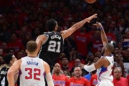 Kas poolvigane Chris Paul tõmbas San Antonio Spursi dünastiale (ja ühele ajastule) joone peale?