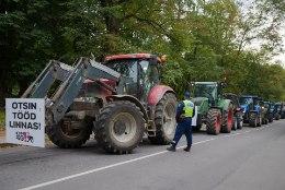 GALERII I Põllumehed Toompeal ausaid konkurentsitingimusi nõudmas