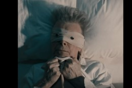 """Look up here, I'm in heaven""... Oli ""Lazarus"" Bowie enda epitaaf?"