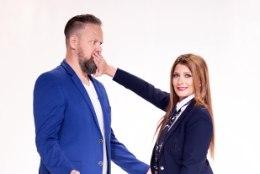 Eesti Laulu poolfinaalide saatejuhid on Henry ja Maris Kõrvits: siit me tuleme – Piip ja Tuut ning Tembu ja Vembu!