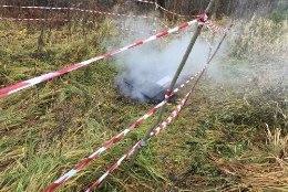 KAHTLUSTATAKSE SÜÜTAMIST! Ennuksemäe metsavennapunker hävis tules