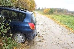 TERVISERIKE? Auto sõitis vastu Andja mõisa varemeid, 60aastane juht hukkus