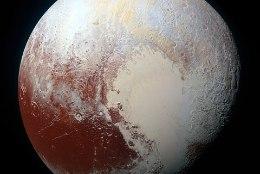 Eluks kõlbulik? Pluuto külmunud pinna all laiub meri