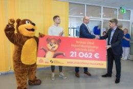 Tänu kommisööjatele koguti liikumispuudega laste raviks üle 21000 euro