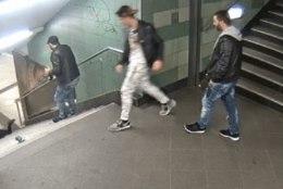 Vahistati metroos naise trepist alla tõuganud bulgaarlane