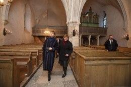 President jõulude ajal kirikusse ei kipu, ent eelmisel nädalal käis küll
