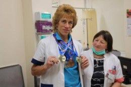Lea Vahter – haiglas hinnatud onkoloog, staadionil maailmameister